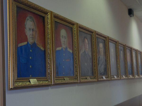 Галерея портретов начальников управления на Москов